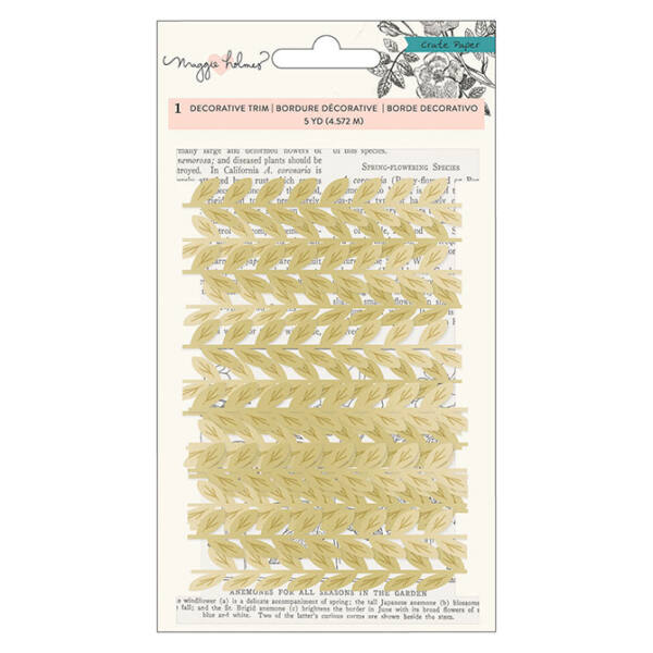 Crate Paper - Maggie Holmes Flourish Decorative Trim