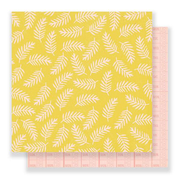Crate Paper - Good Vibes 12x12 Paper - Life Goals