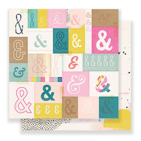 Crate Paper - Good Vibes 12x12 Paper - Serious Fun