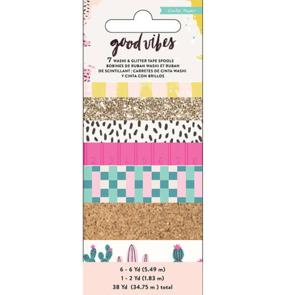 Crate Paper - Good Vibes Washi Tape