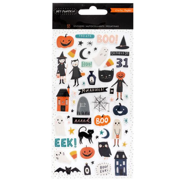 Crate Paper - Hey, Pumpkin Puffy Stickers (55 Piece)