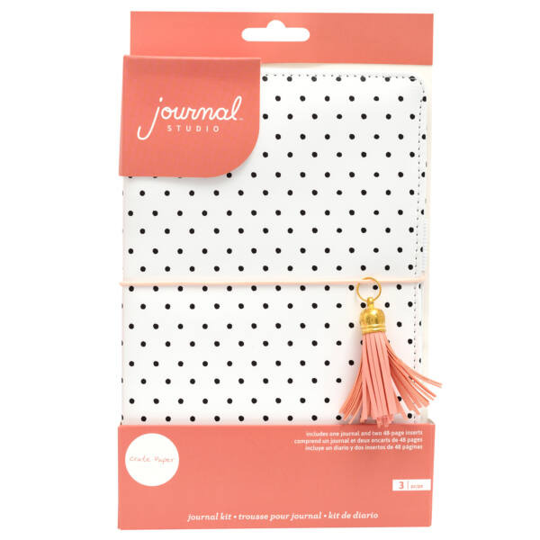 Crate Paper - Journal Studio Journal Kit - Dot (3 Piece)