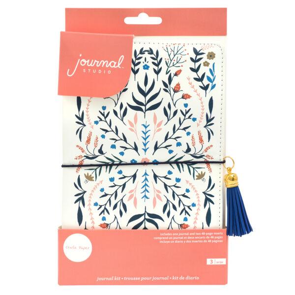 Crate Paper - Journal Studio Journal Kit - Floral (3 Piece)