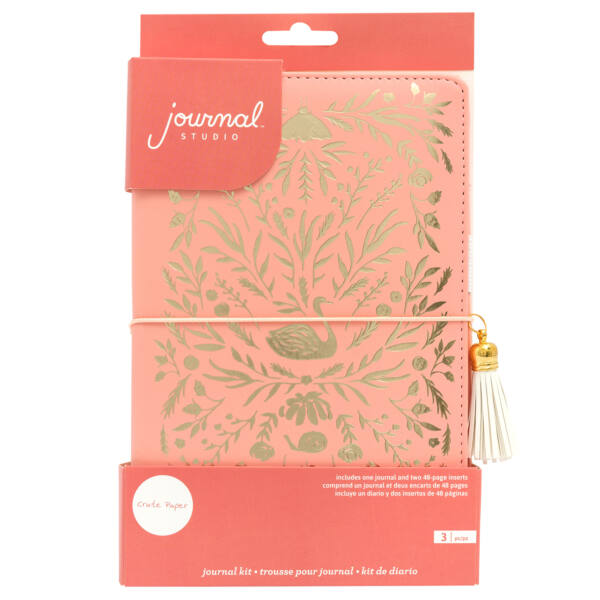 Crate Paper - Journal Studio Journal Kit - Swan (3 Piece)
