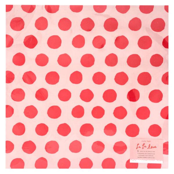 Crate Paper - La La Love 12x12 Specialty Paper
