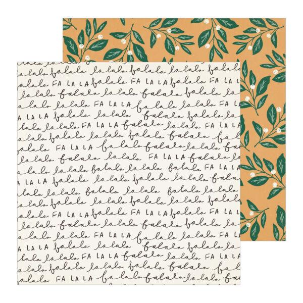 Crate Paper - Merry Days 12x12 Paper - Mistletoe