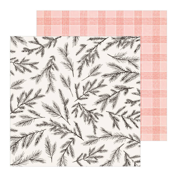 Crate Paper - Merry Days 12x12 Paper - Tinsel