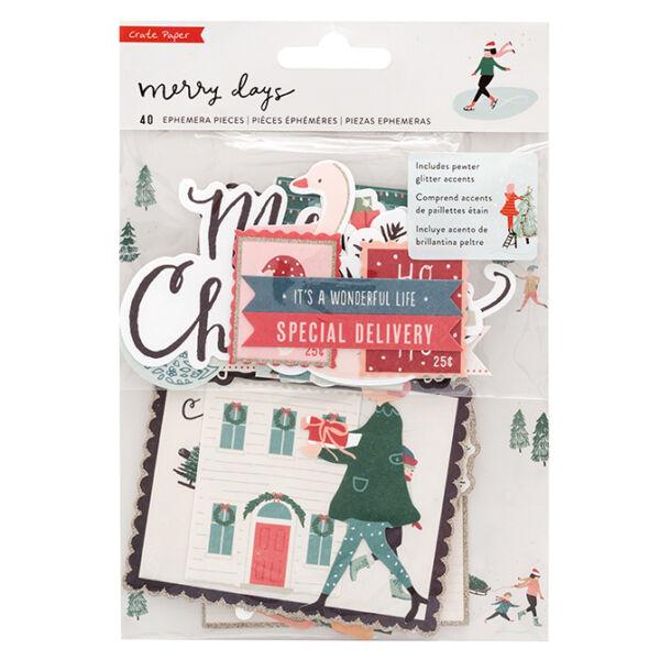 Crate Paper - Merry Days Ephemera