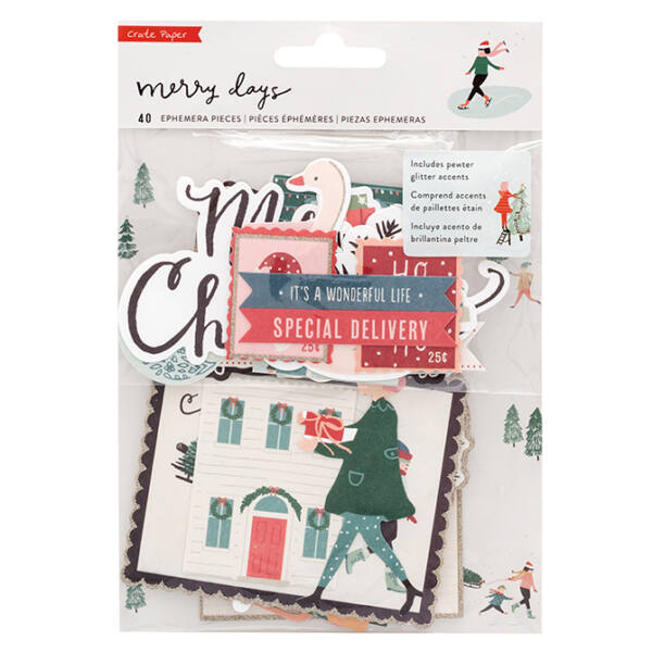 Crate Paper - Merry Days Ephemera