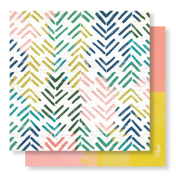 Crate Paper - Wild Heart 12x12 Paper - Electric