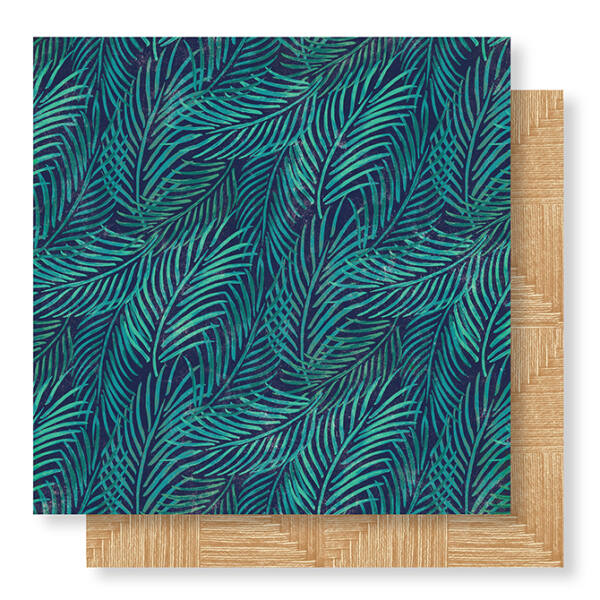 Crate Paper - Wild Heart 12x12 Paper - Palms