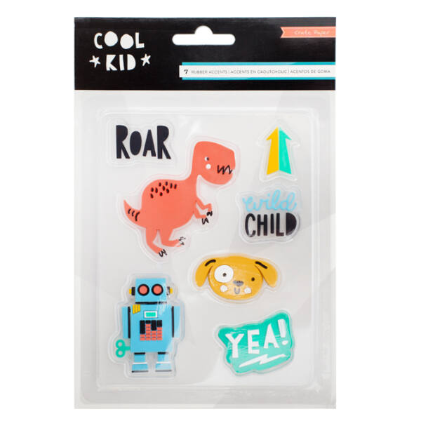 Crate Paper - Cool Kid Rubber Accents
