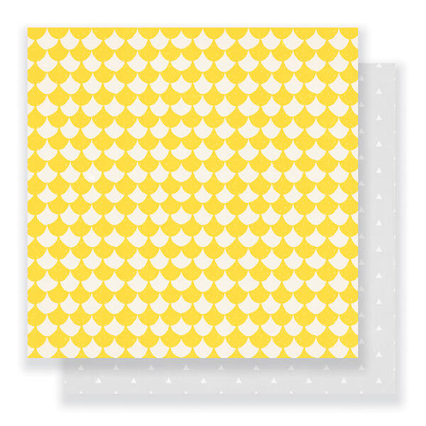Crate Paper - Cute Girl 12 x 12 Double Sided Paper - Cheery