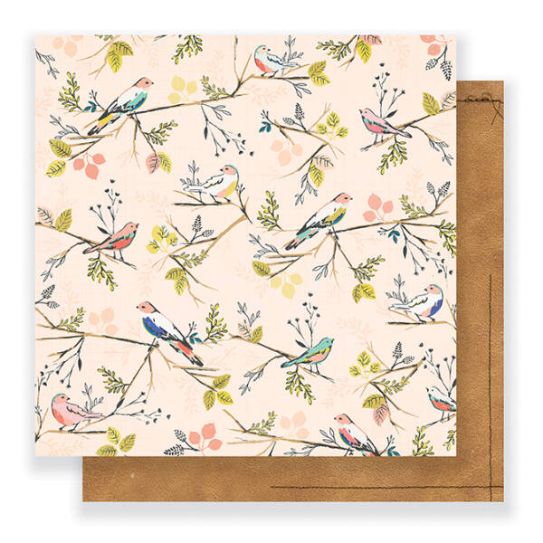Crate Paper - Maggie Holmes - Gather 12 x 12 Double Sided Paper - Kindred