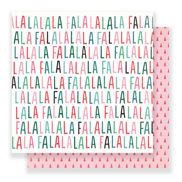 Crate Paper - Falala 12x12 Paper - Festive