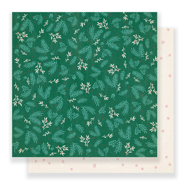 Crate Paper - Falala 12x12 Paper - Mistletoe