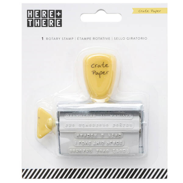 Crate Paper - Here & There Phrase Roller Stamp