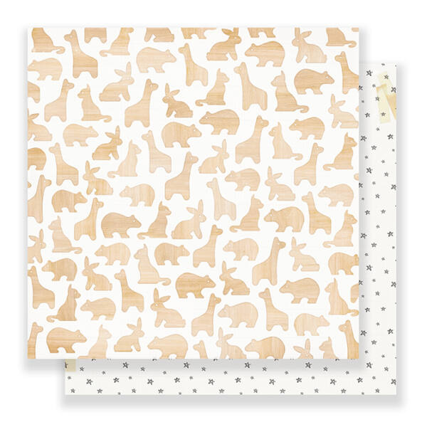 Crate Paper Little You 12 x 12 Double Sided Paper - Perfect