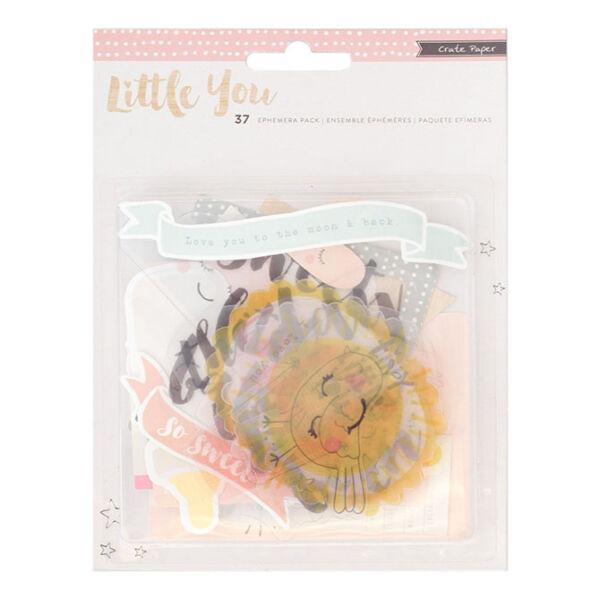 Crate Paper Little You - Girl Ephemera