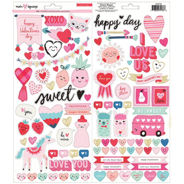 Crate Paper - Main Squeeze 6x12 Stickers