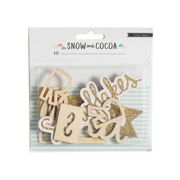Crate Paper Snow & Cocoa Wood Veneer