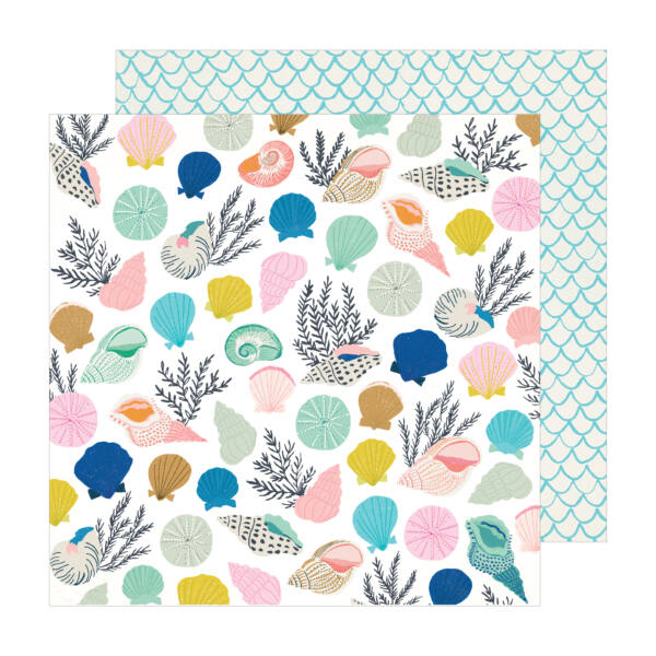 Crate Paper - Maggie Holmes - Sunny Days 12x12 Patterned Paper -  Collected