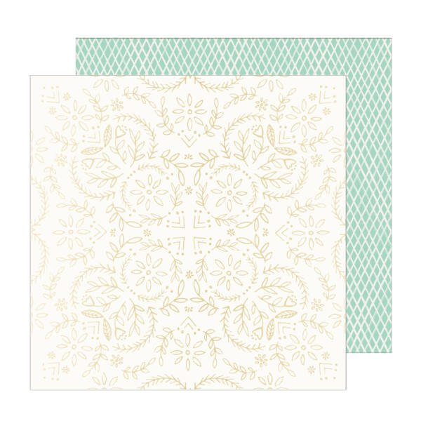 Crate Paper - Maggie Holmes - Sunny Days 12x12 Specialty Paper - Solstice