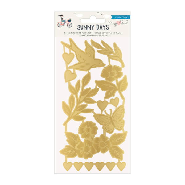 Crate Paper - Maggie Holmes - Sunny Days Embossed Die-Cuts