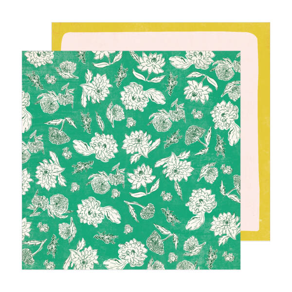 Crate Paper - Maggie Holmes - Sunny Days 12x12 Patterned Paper -  Whimsy