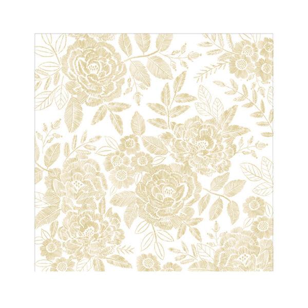 Crate Paper - Maggie Holmes - Willow Lane 12x12 Golden Vellum Paper