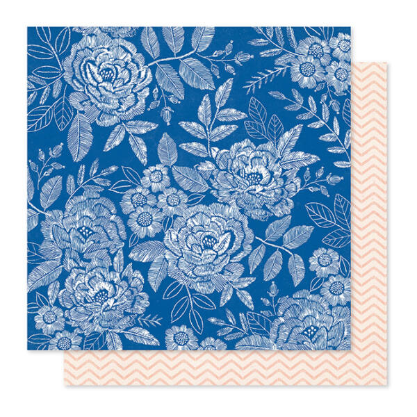 Crate Paper - Maggie Holmes - Willow Lane 12x12 Paper - Sweet Rose