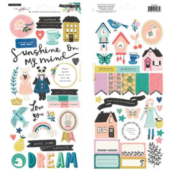 Crate Paper - Maggie Holmes - Willow Lane 6x12 Stickers
