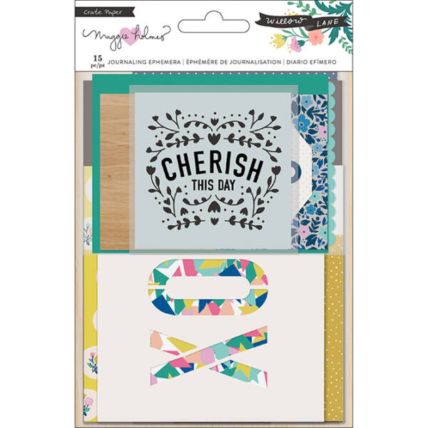 Crate Paper - Maggie Holmes - Willow Lane Journaling Ephemera