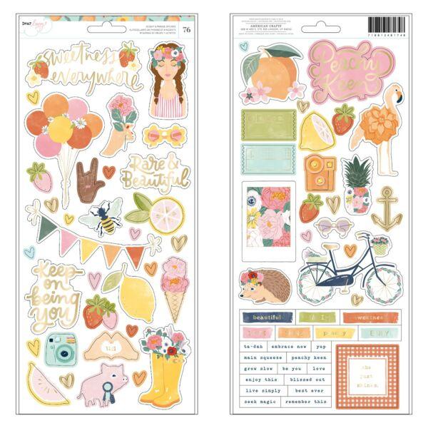 Dear Lizzy - It's All Good 6x12 Sticker (76 Piece)