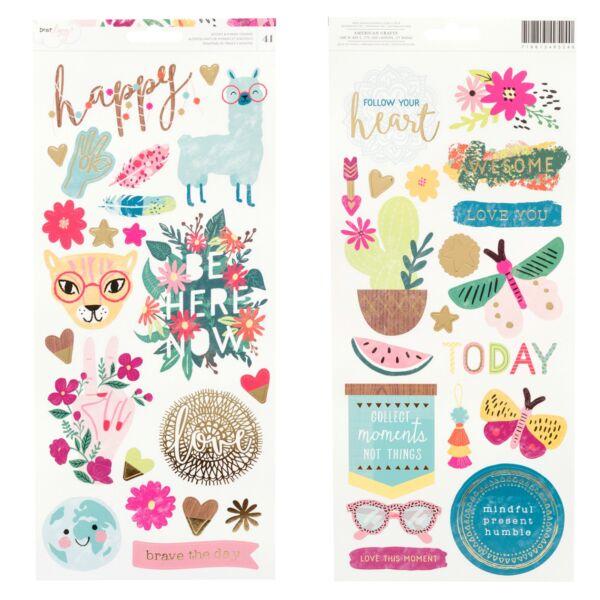 Dear Lizzy - New Day 6x12 Stickers (41 Piece)