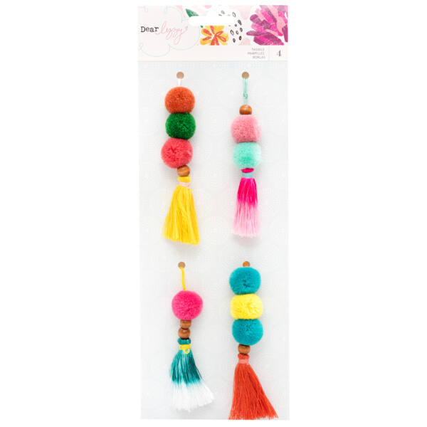 Dear Lizzy - New Day Beaded Tassels (4 Piece)