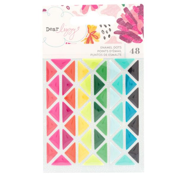 Dear Lizzy - New Day Enamel Dots (48 Piece)