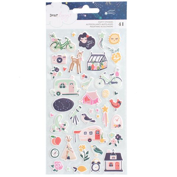 Dear Lizzy - Star Gazer Puffy Stickers