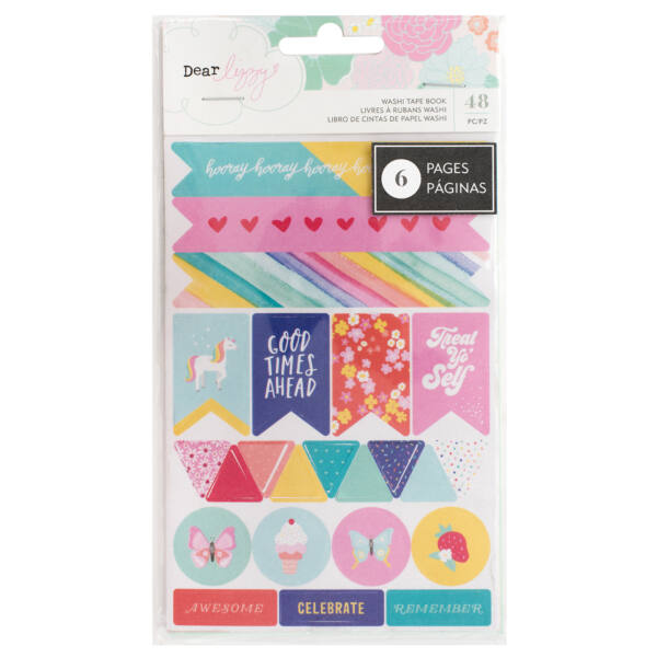 Dear Lizzy - Stay Colorful Washi Book