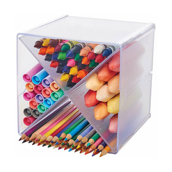 Deflecto Storage Organizer - X-Divided