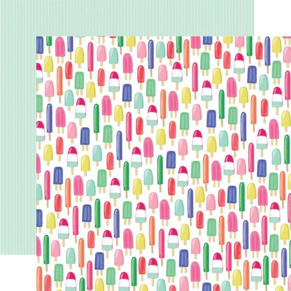 Echo Park - Best Summer Ever 12x12 Paper - Sweet Treats