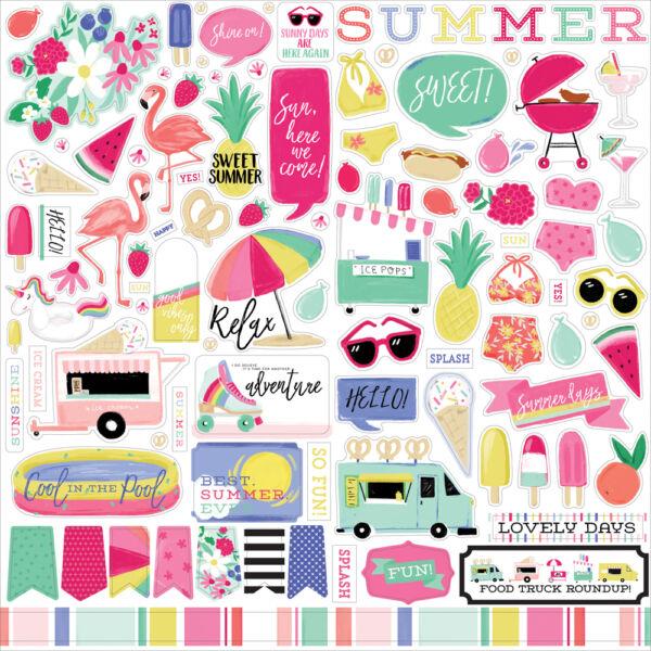 Echo Park - Best Summer Ever 12x12 matrica