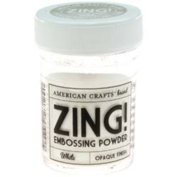 Zing! Opaque Embossing Powder - White
