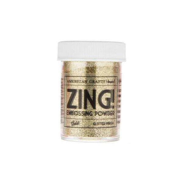 Zing! Opaque Embossing Powder - Gold Glitter