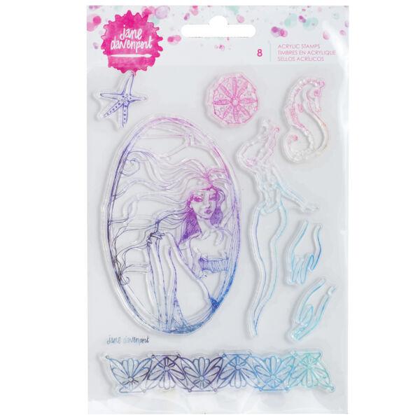 Jane Devanport Acrylic Stamps - Mermaid