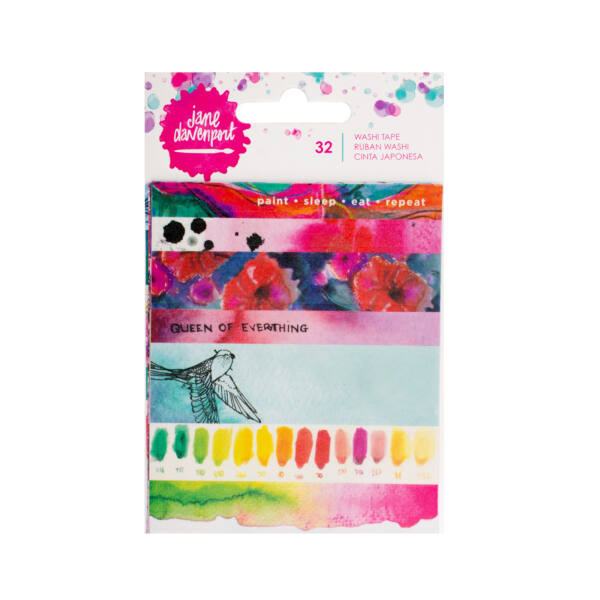 Jane Devanport Paint Phras Washi Book