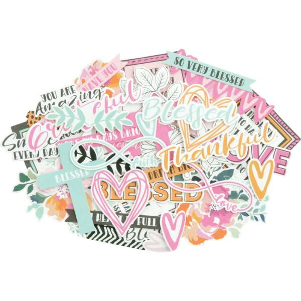 Kaisercraft - Blessed Cardstock Die-Cuts