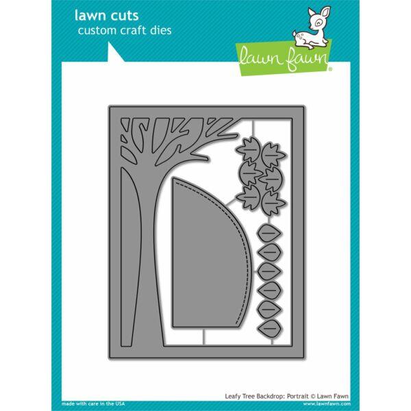 Lawn Cuts - Leafy Tree Backdrop: Portrait