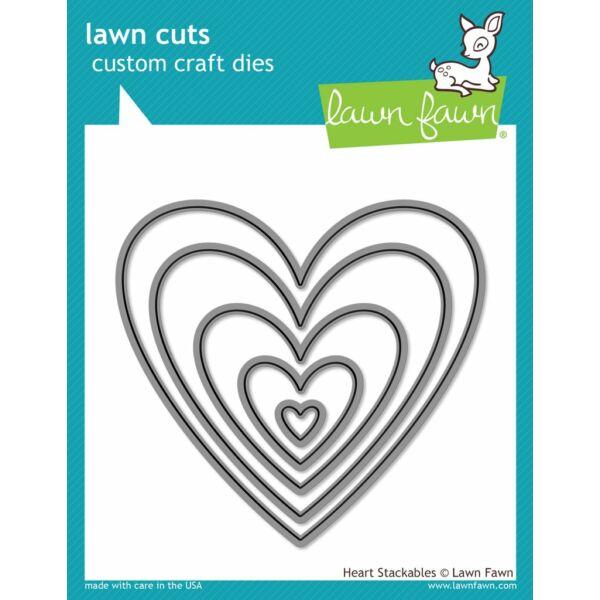 Lawn Cuts - Heart Stackables