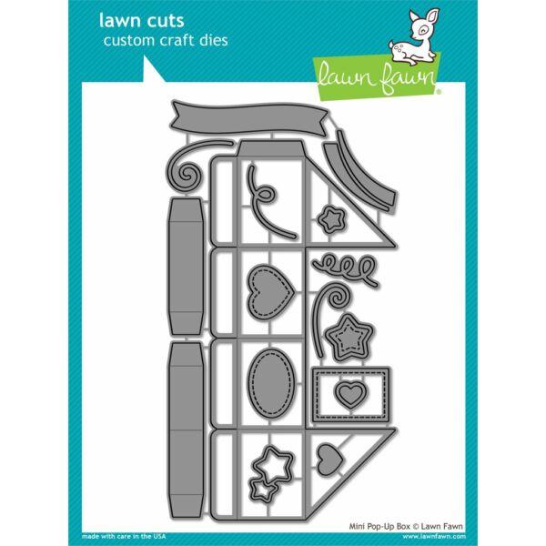 Lawn Fawn Die Set - Mini Pop-up Box